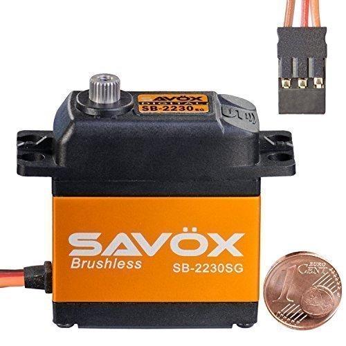 Digital Brushless HV Standard Servo SB-2230SG SAVÖX 80101044