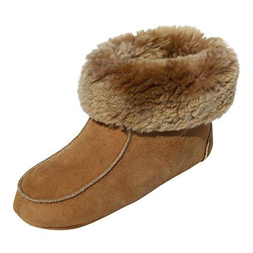Ibiza Femmes Chaussons Souple avec avec Laine bettschuhe de Chaussures Semelle Peau Chaussons Mouton Leather Chaussures Hollert w0gpXqf0