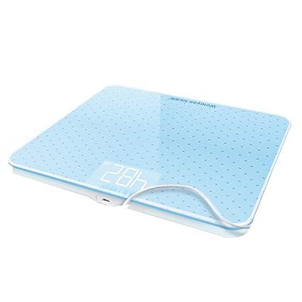 Básculas Digitales Báscula de baño Digital de Alta precisión Escala de Peso Corporal Plataforma de Vidrio