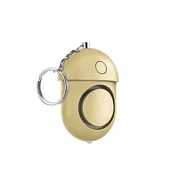 Zibofugu Alarma Personal Alarmas De Seguridad Llavero con ...