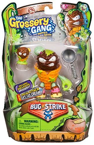 Grossery Gang The S4 Bug Strike Action Figure - Captain Lice Cream