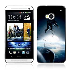 Designer Depo Hard Protection Case for HTC One M7 / Astronaut
