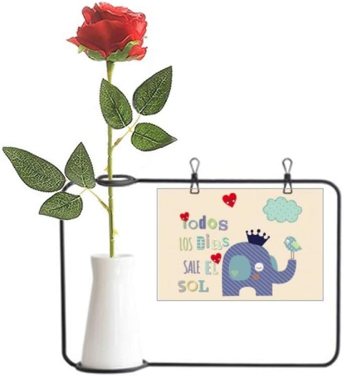 Amazon Com Yaox Cartoon Crown Elephant Cloud Bird Artificial Rose Flower Hanging Vases Decoration Bottle Home Kitchen Polish your personal project or design with these cartoon crown transparent png images, make it even more personalized and more attractive. amazon com