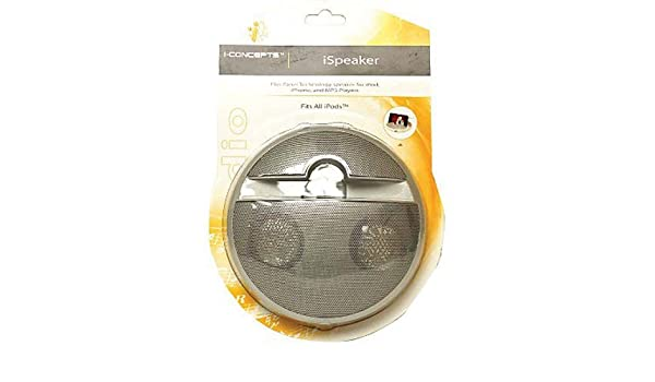 Amazon.com: Digital Concepts 18887-IP-SLV iSpeaker Flat Panel Speaker, Silver: Home Audio & Theater
