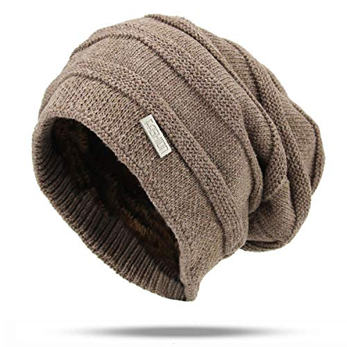 Knitted Winter Hats Women Cotton Beanie Ladie Warm Hats Men Solid Color Unisex Bonnet Fashion Sport Khaki