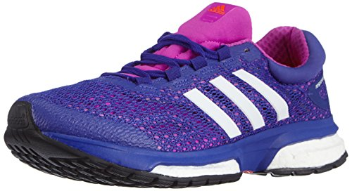 adidas Performance Response Boost Damen Laufschuhe Violett (Flash Pink S15/Ftwr White/Night Flash S15)