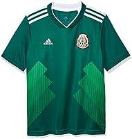 Jersey Oficial Selección de México Visitante para Niños, Unisex, color Verde, Mediano 11-12 años