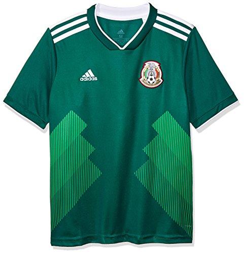 adidas 2018-2019 Mexico Home Football Shirt (Mexico Home Jersey Shirt)
