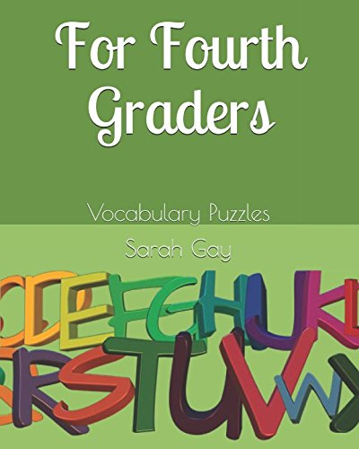 For Fourth Graders: Vocabulary Puzzles