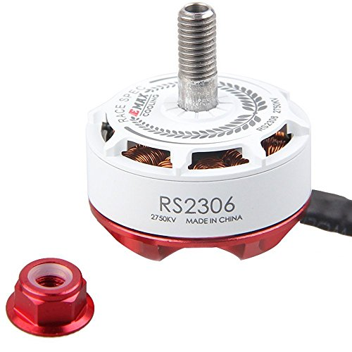 Thriverline EMAX RS2306 2750KV Brushless Motors FPV Racing Motors White Version 3-4S for FPV Racing Drone like QAV210 etc