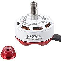 Thriverline EMAX RS2306 2750KV Brushless Motors FPV Racing Motors White Version 3-4S for FPV Racing Drone like QAV210 etc