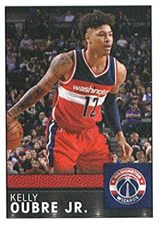 2016 17 panini stickers 185 kelly oubre jr washington wizards basketball sticker