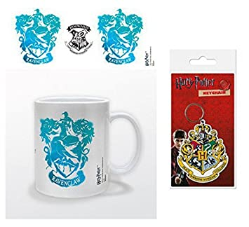 Set: Harry Potter, Blasón Estarcido De Ravenclaw Taza Foto ...