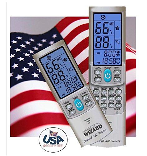 Universal AC Remote Control (SILVER GREY) For Mini-split