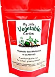 Vegetable Seeds Variety Pack Canada - 10 Heirloom Varieties (Container & Raised Garden Friendly) Non GMO