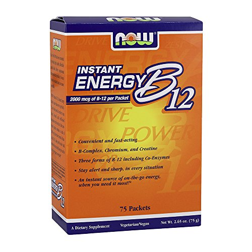 NOW B 12 Instant Energy 75 Packets