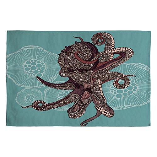 DENY Designs Valentina Ramos Octopus Bloom Woven Rug, 2 x 3