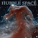 Hubble Space Telescope 2018 12 x 12 Inch Monthly Square Wall Calendar by Wyman, Science Space Technology NASA
