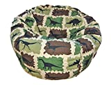 Ahh! Products Dinosaurs Camouflage Kid Bean Bag Chair