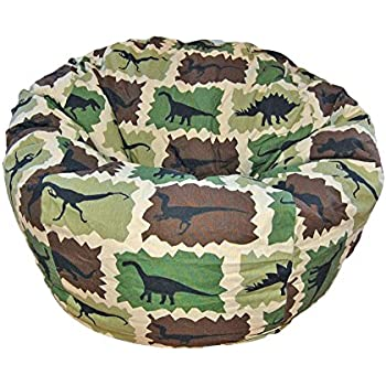 Amazon Com Ahh Products Dinosaurs Blue Kid Bean Bag