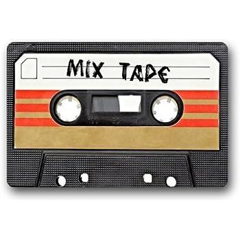 Amazon Com Cassette Art Pattern Mix Tape Doormat Door