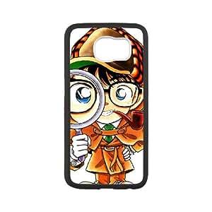 Detective Conan Samsung Galaxy S6 Cell Phone Case Black yyfabc-423957