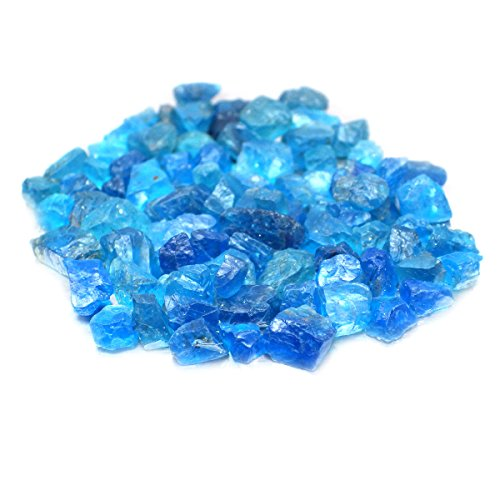 thaigeneration 50.00 Ct. Beautiful Color Natural Rough Blue Apatite Small Size
