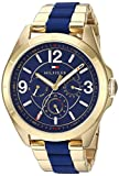 Tommy Hilfiger Women's 'SOPHISTICATED SPORT' Quartz and Stainless-Steel Casual Watch, Color:Gold-Toned (Model: 1781769)