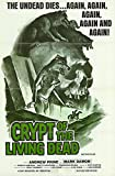 """Crypt of the Living Dead - Authentic Original 27"""" x 41"""" Folded Movie Poster"""