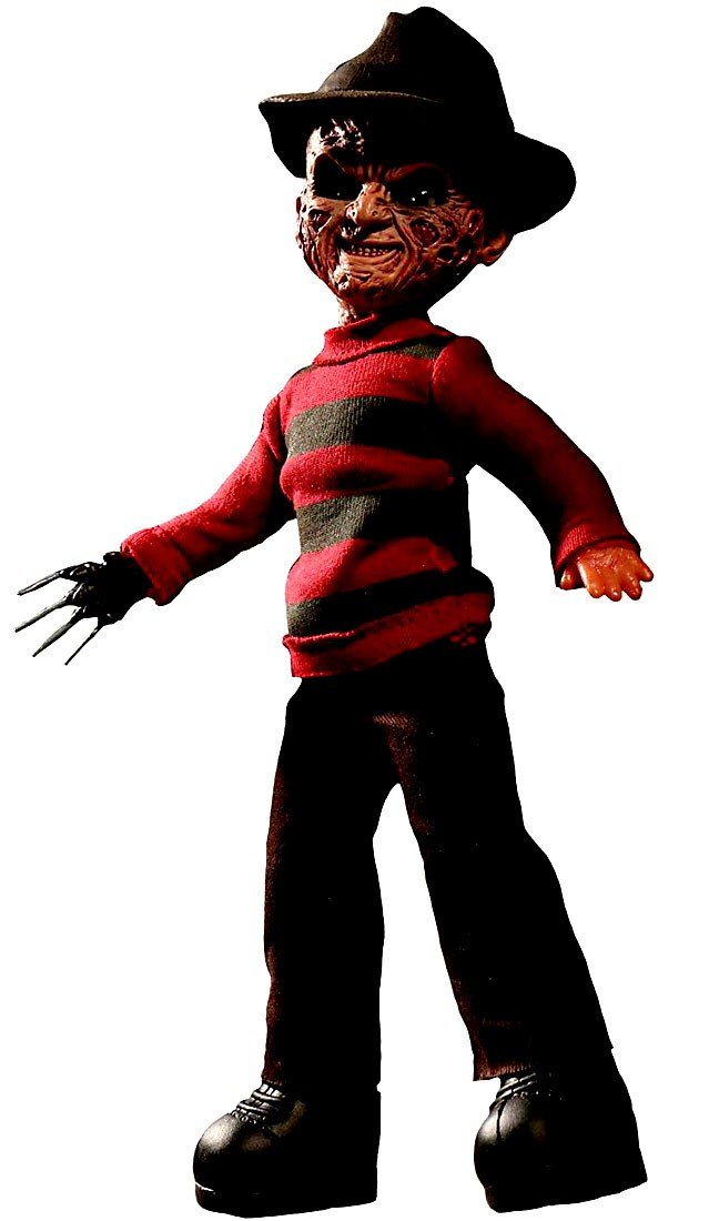 Mezco Living Dead Dolls A Nightmare on Elm Street Freddy Krueger 10-Inch Talking Figure