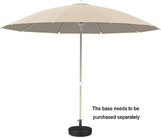 Paraguas para Exteriores con Cubierta Color Caqui, Sombrilla De ...