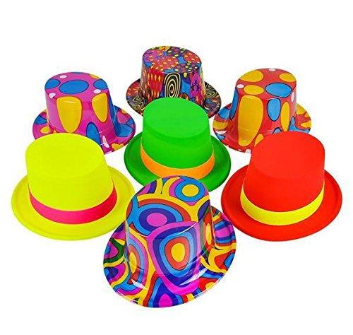 Hat Box Assortment - 48PC TOP HAT ASSORTMENT, Case of 3