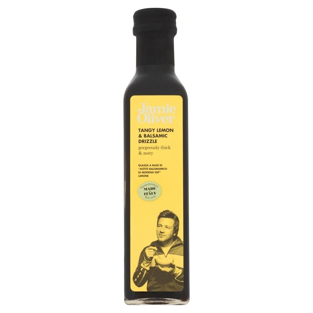 Jamie Oliver Tangy Lemon & Balsamic Drizzle (250ml) - Pack of 2