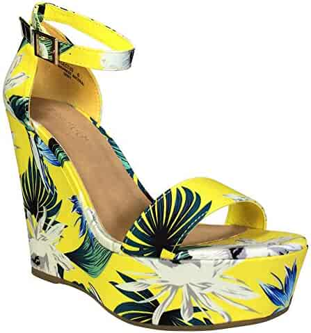 ed539920c53b6 Shopping 7.5 or 5.5 - Yellow - Platforms & Wedges - Sandals - Shoes ...