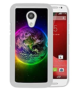 Newest Moto G 2nd Case,Outer Space White High Quality Hot Sale Motorola Moto G 2nd Generation Phone Case