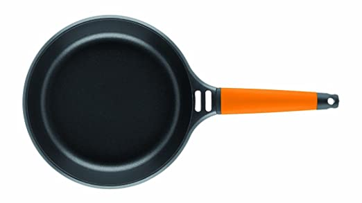 Amazon.com: Fundix by Castey Nonstick Cast Aluminium Induction Fry Pan with Removable Orange Handle, 6-1/4-Inch: Chefs Pans: Kitchen & Dining