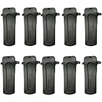 Dreamworth 10 X Belt Clip Clamp Replacement for Baofeng Two-Way Radio 888s H777 Bf-666s Bf-777s Bf-888s Bf-999s
