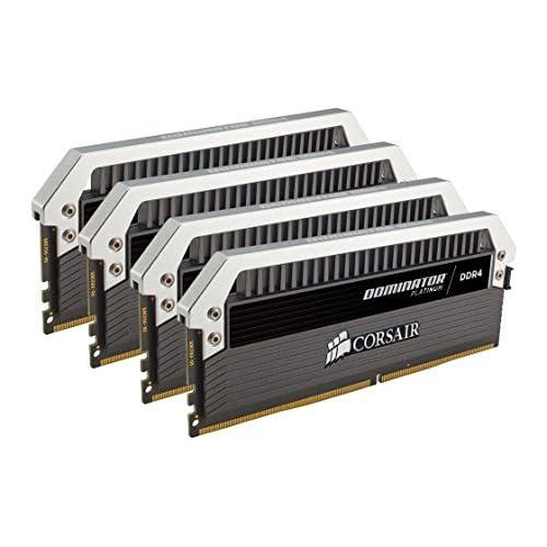 chollos oferta descuentos barato Corsair Dominator Platinum Módulo de Memoria XMP 2 0 de Alto Rendimiento de 32 GB 4 x 8 GB DDR4 3000 MHz C15