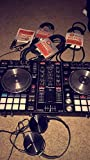 Pioneer DJ DDJ-SR Portable 2 Chanell Controller w/ Decksaver Protective Cover & 1/4 inch Cables - Bundle