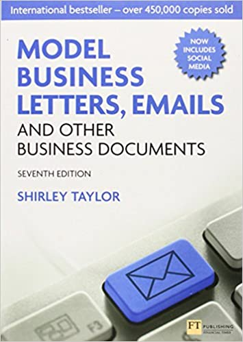 Model Business Letters, Emails and Other Business Documents (7th ...
