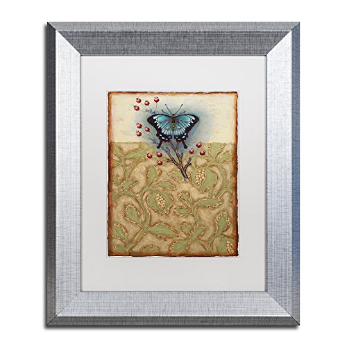 Salt Meadow Butterfly by Rachel Paxton Photography in White Matte and Silver Frame, 11