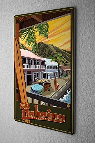 Tin Sign World Tour Old - At Shops Lahaina