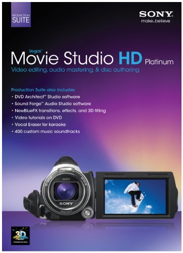Sony Vegas Movie Studio HD Platinum 11 Production Suite [Old Version] (Final Cut Pro 7 Studio 3 Hd)