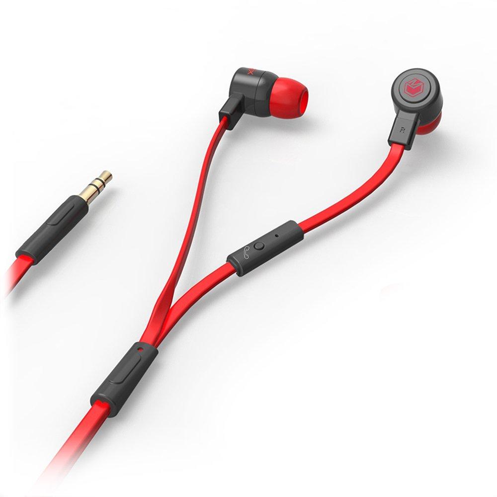 Amazon.com: MQbix MQGT26BLK Talking AeroFones Flat Cable Earphones ...