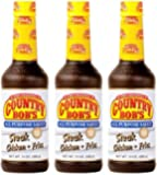 Country Bob's All Purpose Sauce, 13oz Bottles (Pack of 3)
