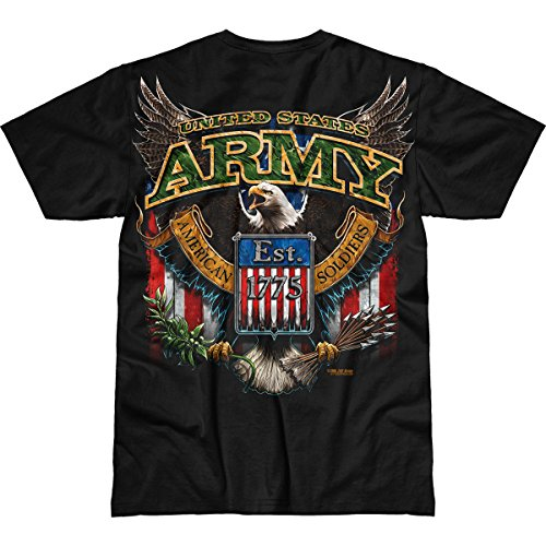 7.62 Design Army 'Fighting Eagle' Men's Battlespace T-Shirt