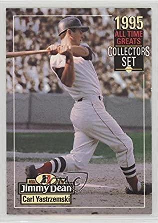 Amazoncom Carl Yastrzemski Baseball Card 1995 Jimmy Dean