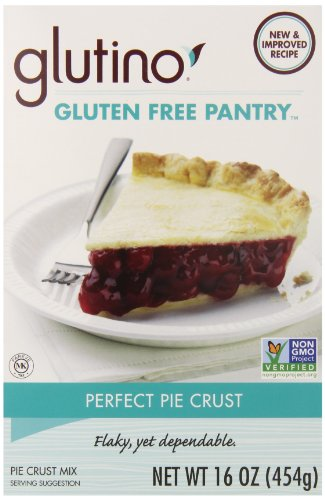 Glutino Gluten Free Pantry Perfect Pie Crust Mix, 16-Ounce Boxes (Pack of 6)