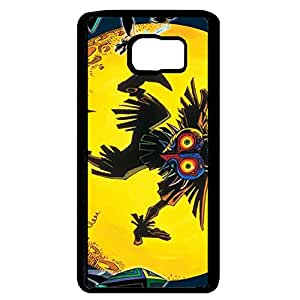 Majora's Mask Series Phone Case Black Hard Plastic Case Cover For Samsung Galaxy Note 5 Legend of Zelda Series
