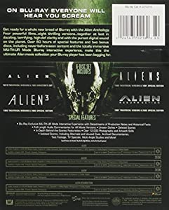 Alien Anthology (Alien / Aliens / Alien 3 / Alien: Resurrection) [Blu-ray] from 20th Century Fox Home Entertainment